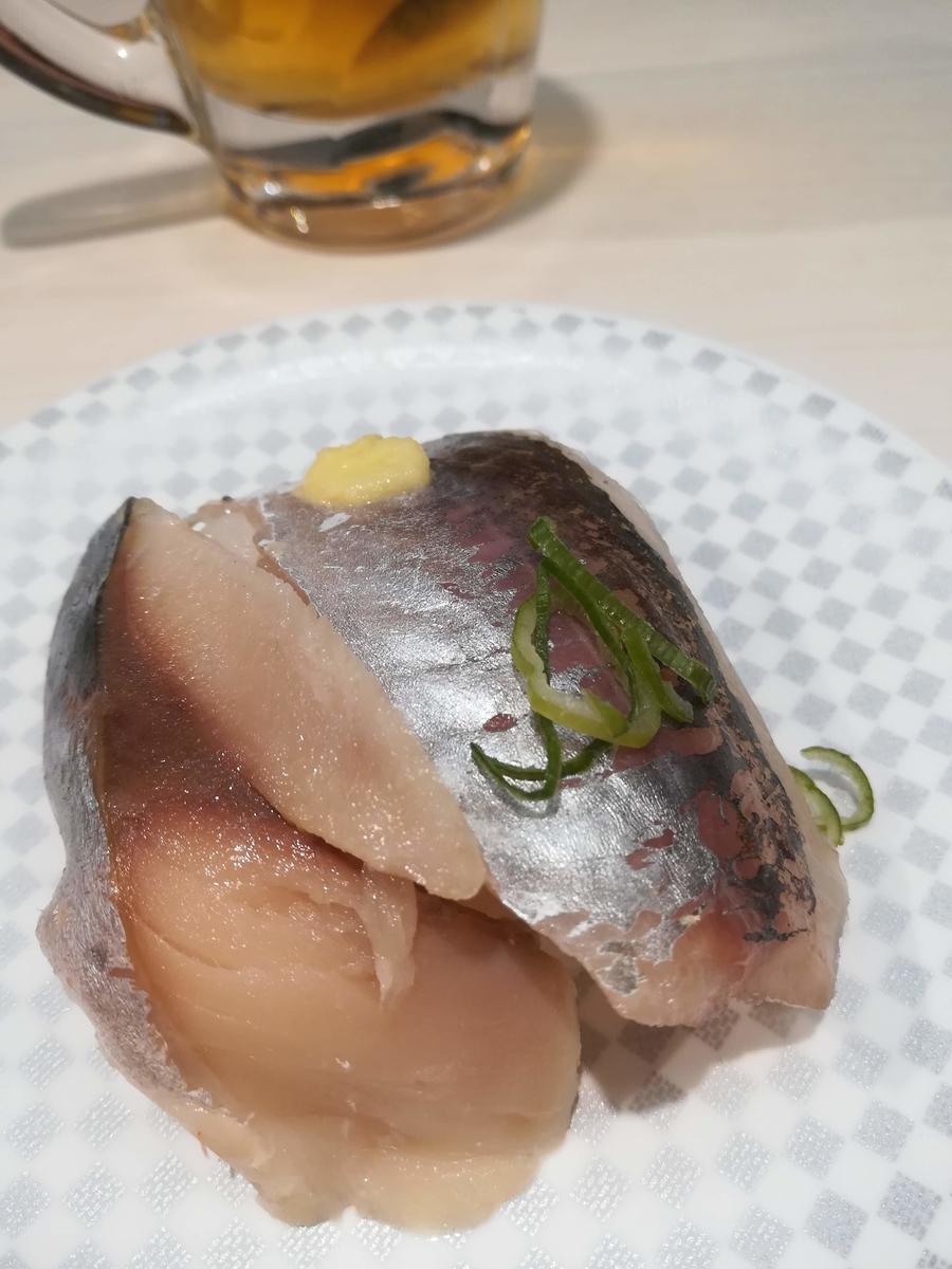 魚べいは青物もおいしいですよ!