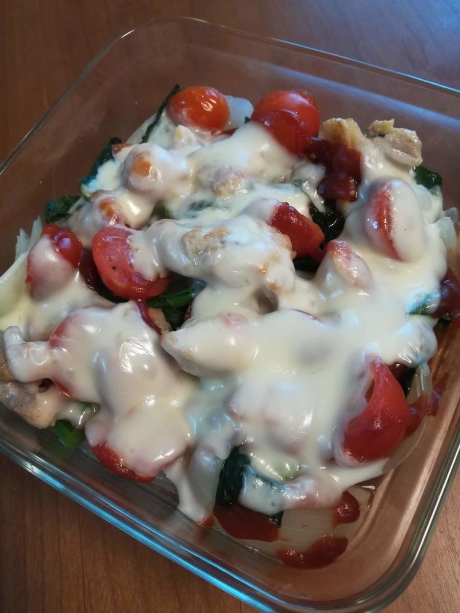 いろいろ野菜のチーズグリル