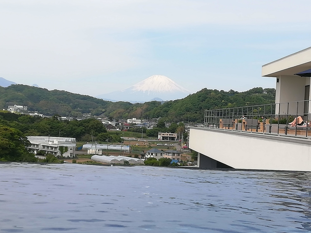 スパからは富士山ビューも楽しめますよ!