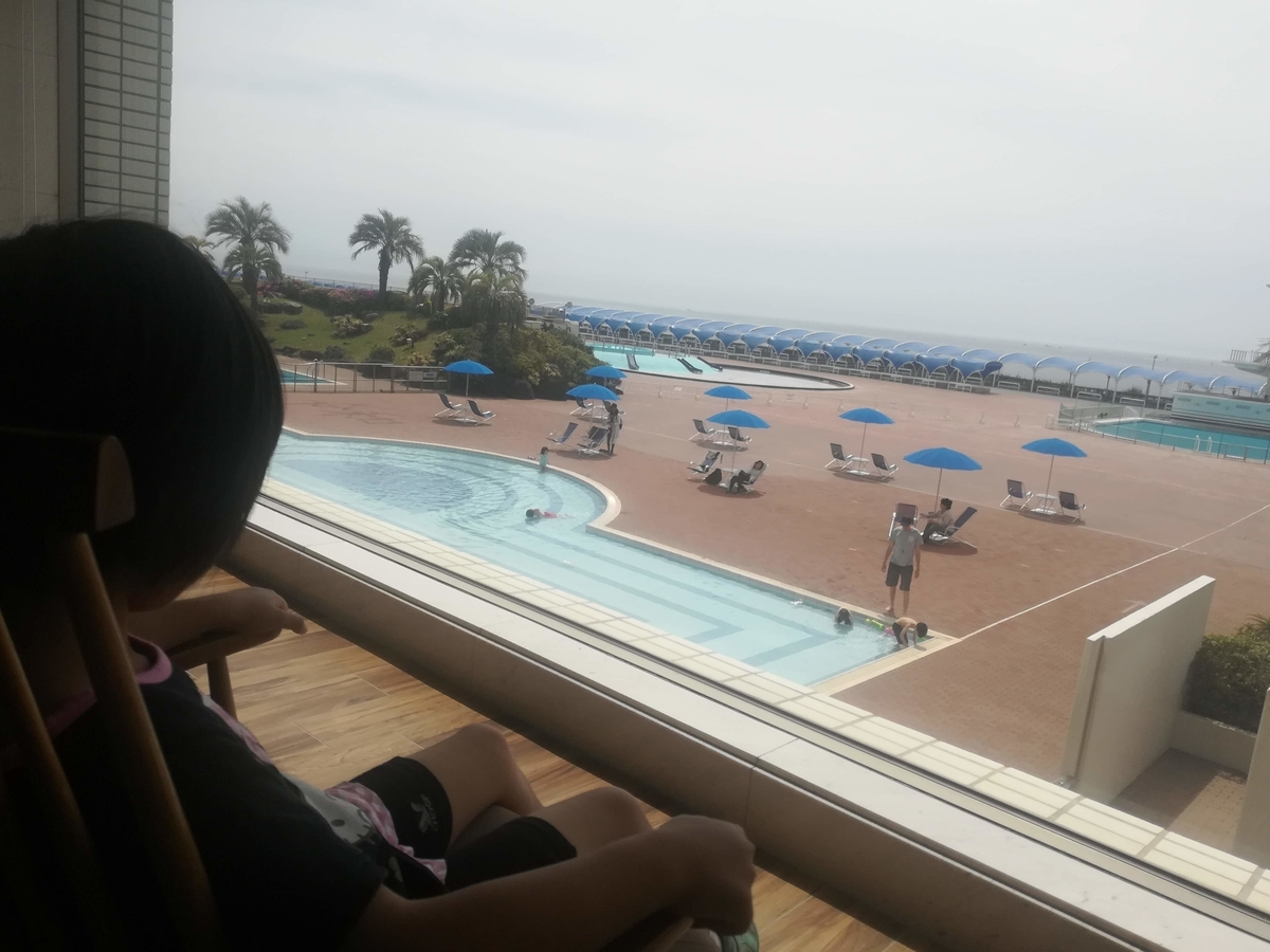 GW限定でじゃぶじゃぶプールが無料開放されていました!