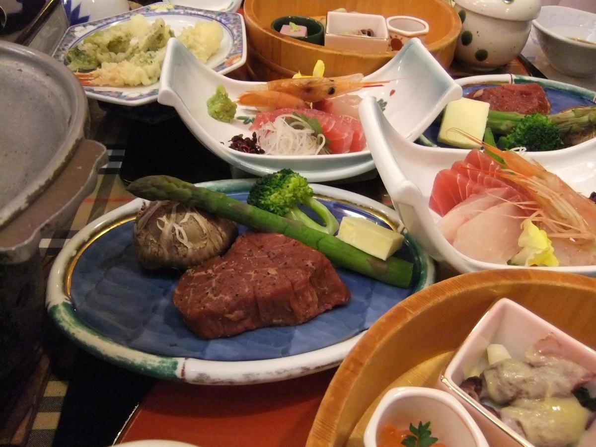 お肉に魚にお野菜にオンパレードですね