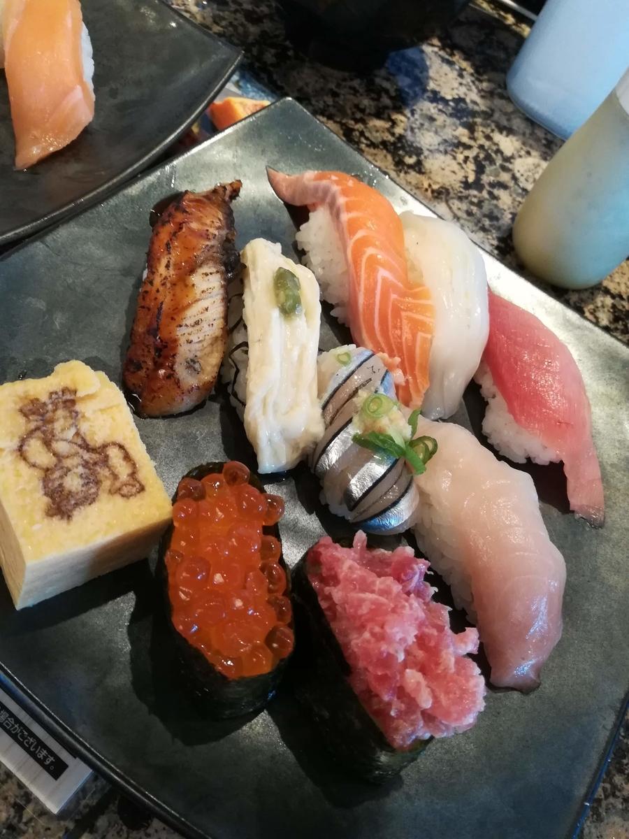 がってん寿司の初夏のおすすめ握りランチはネタが豪華!