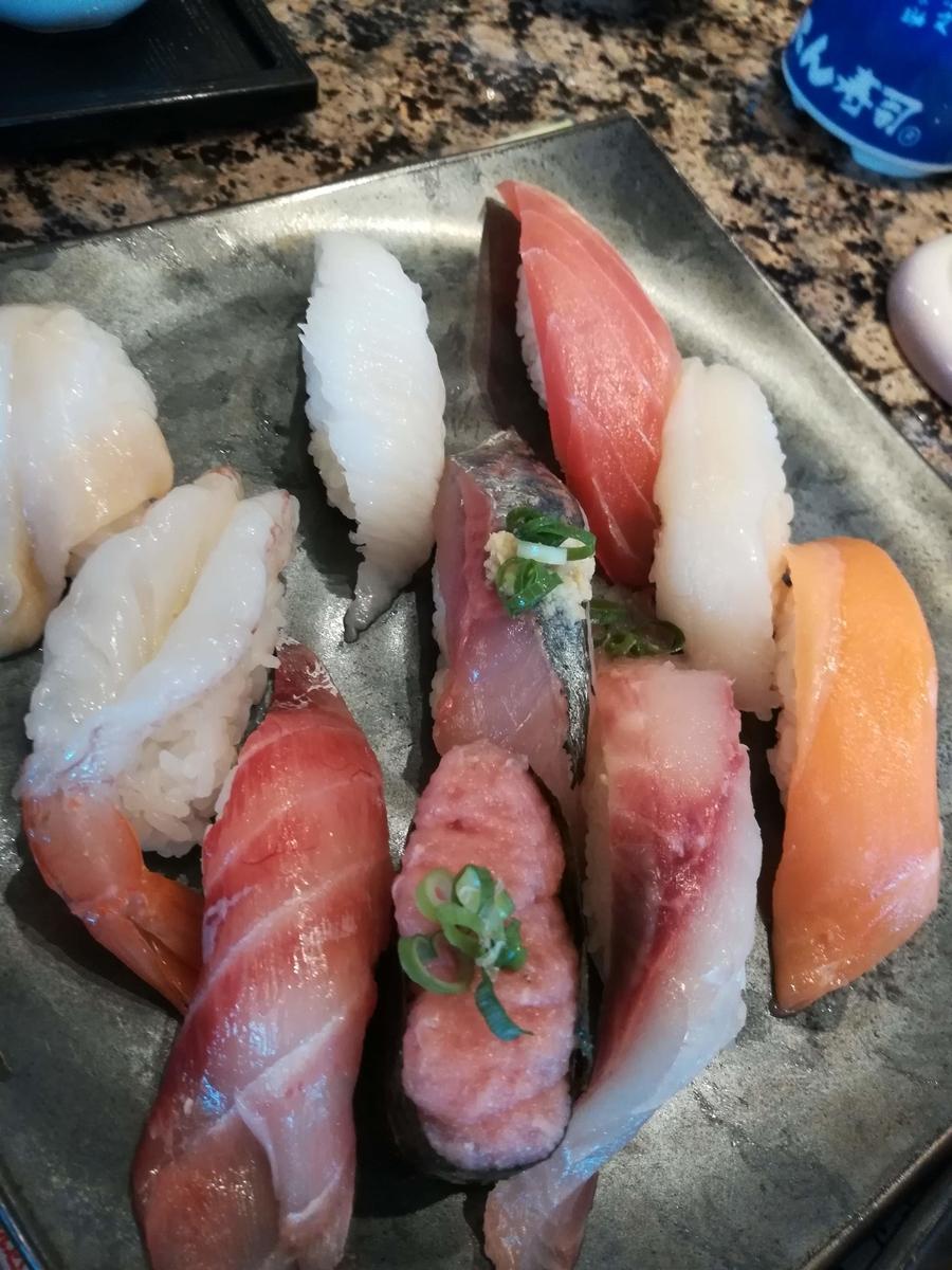 がってん寿司の日替わり握りランチは安くてオススメ!
