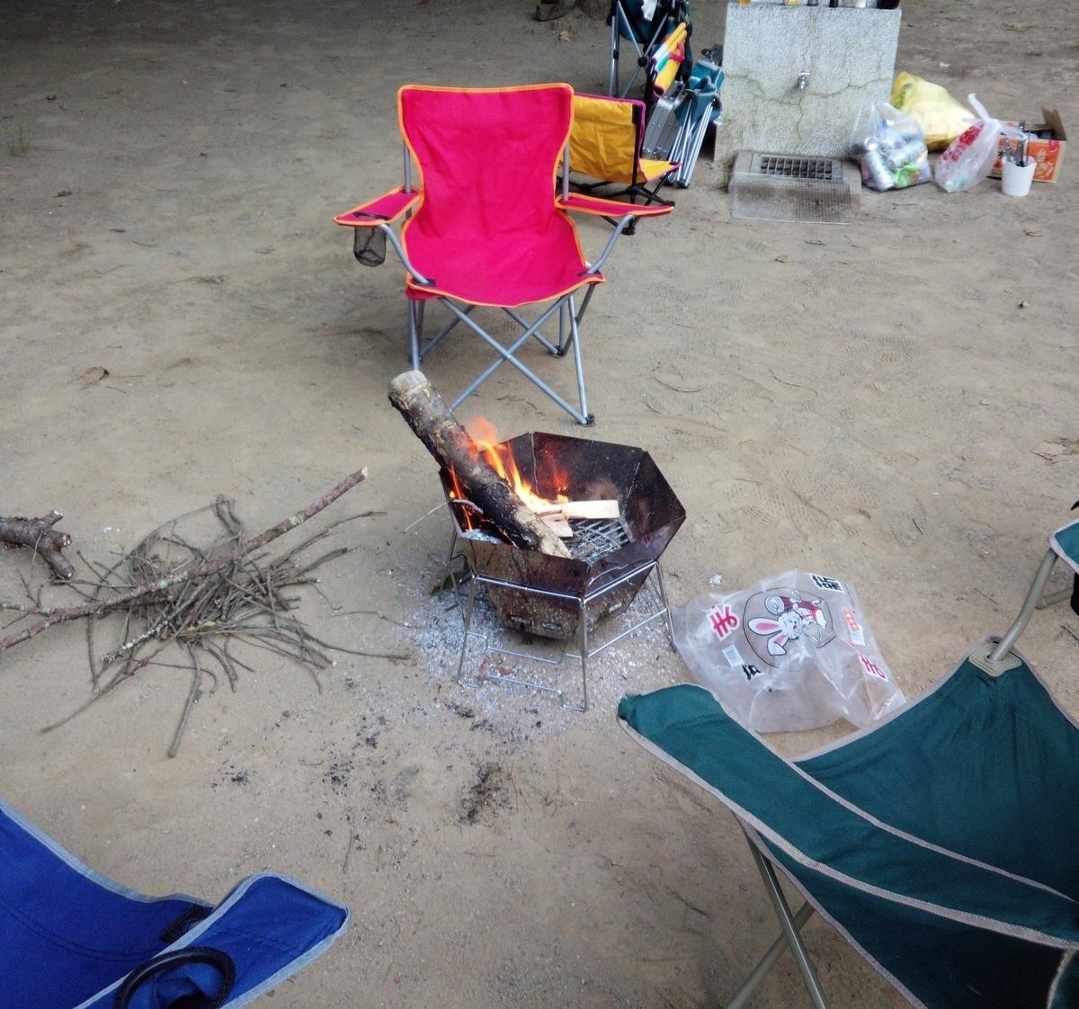 焚き火台があるとアウトドアの楽しさが広がります!