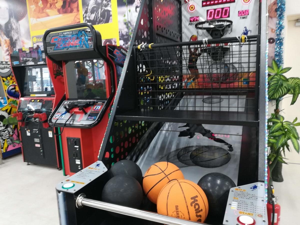 ゲームセンターにあるようなゲームも遊び放題!