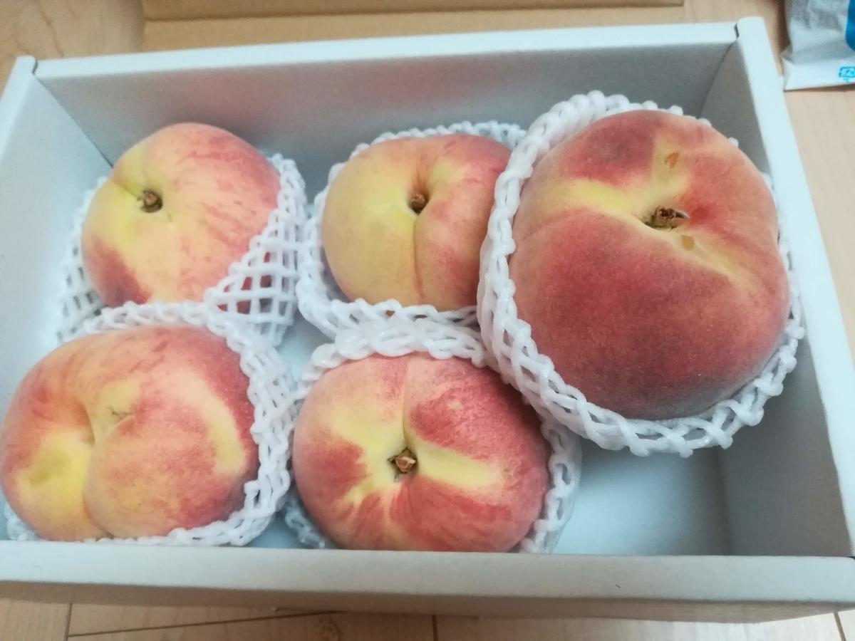 桃たちを全員反転させてみました!