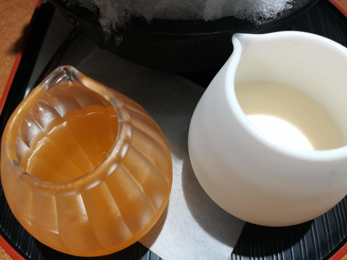 信州産黄金桃のシロップとミルクの相性はバツグン!