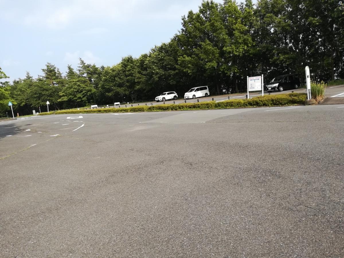 渋川スカイランドパークの駐車場