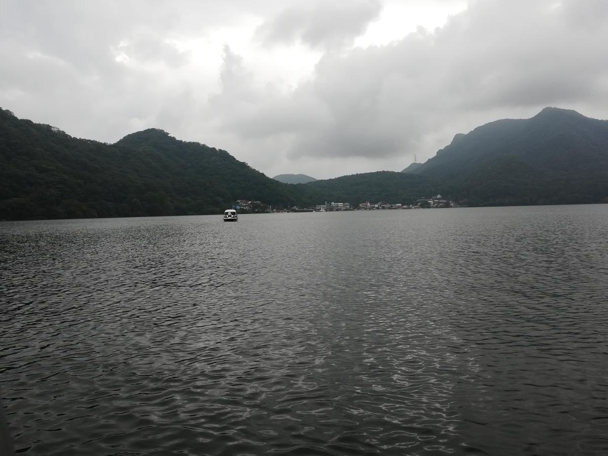榛名湖の上はまた違った雰囲気がありますね!