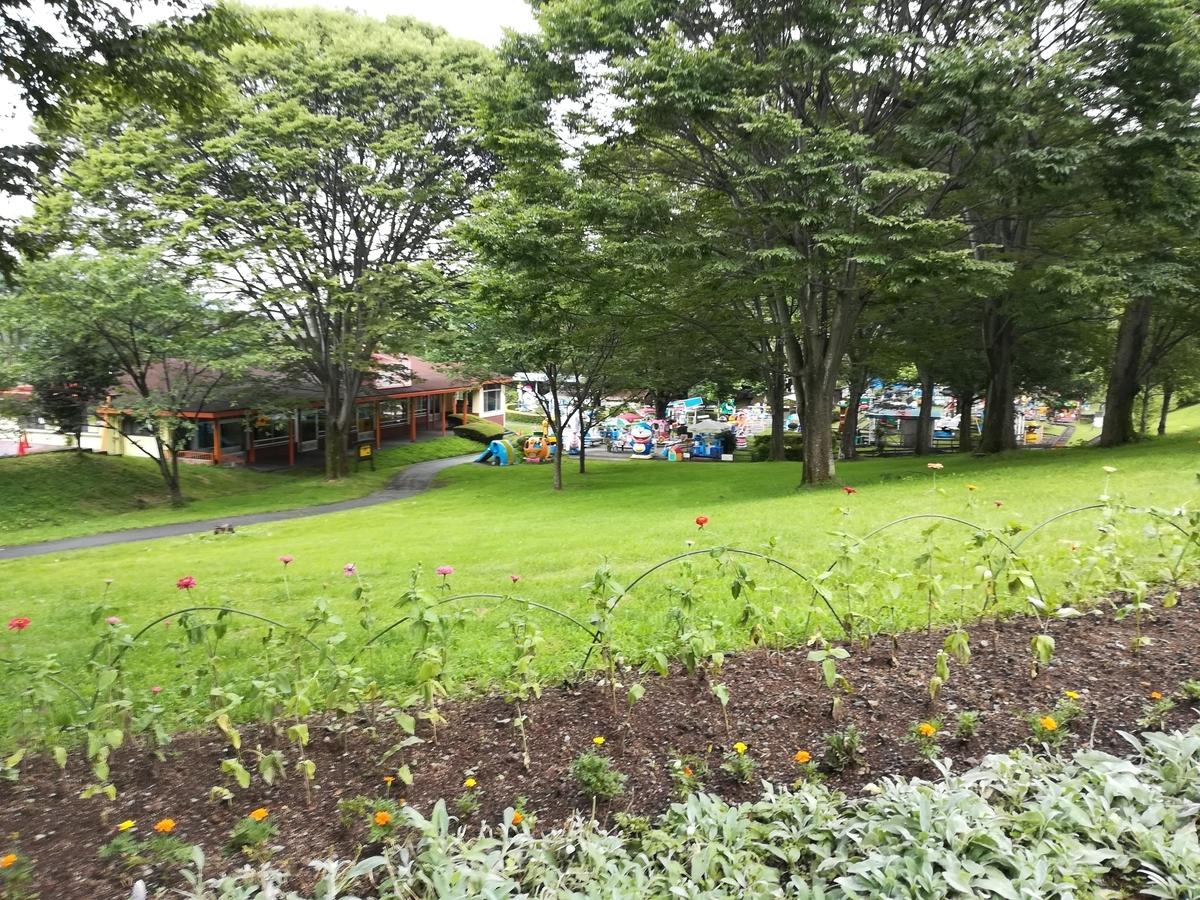 園内はとてもきれいに整備されています