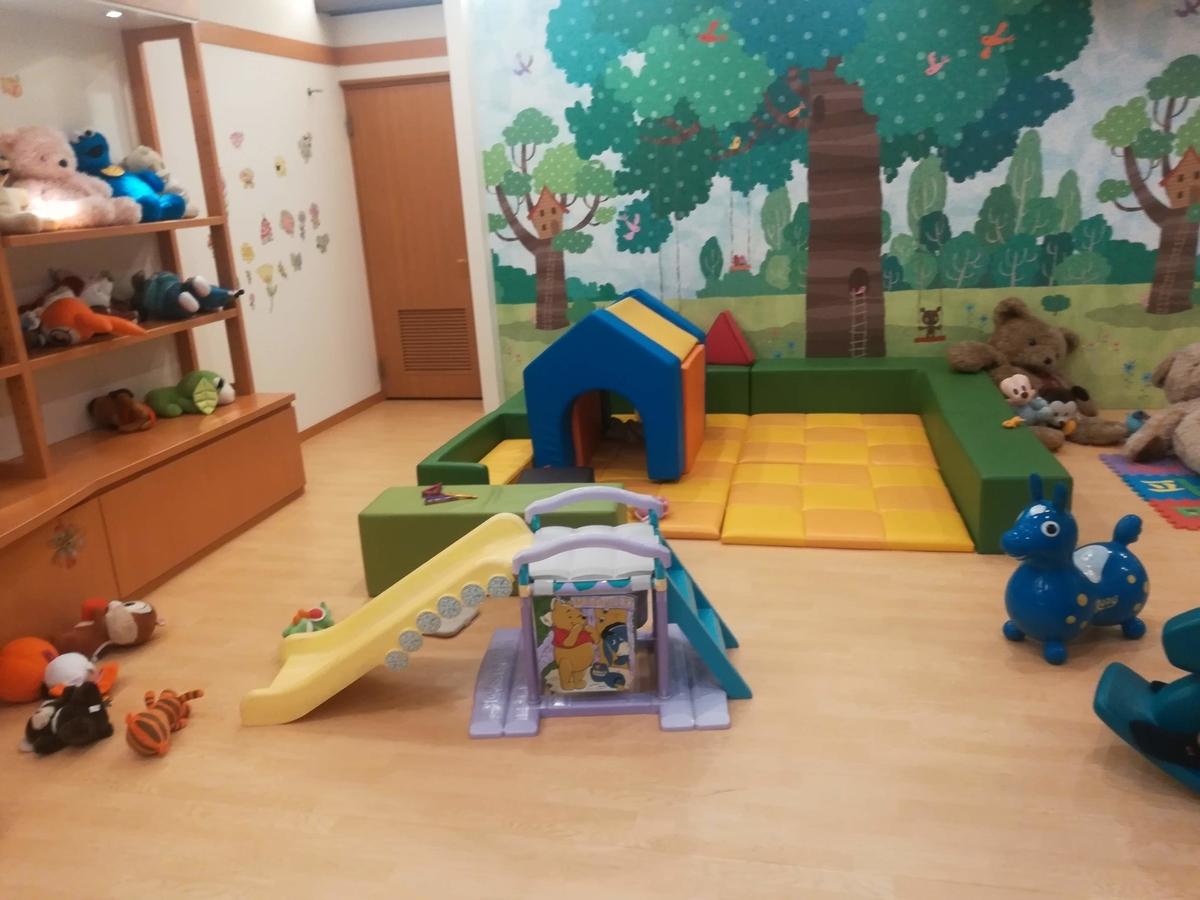 子どもが遊べるコーナーは子連れにはありがたい!