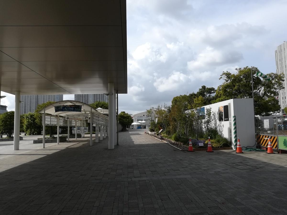 ホテルを出た正面がりんかい線の国際展示場駅です。