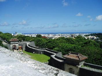首里城からの眺望は本当に美しい