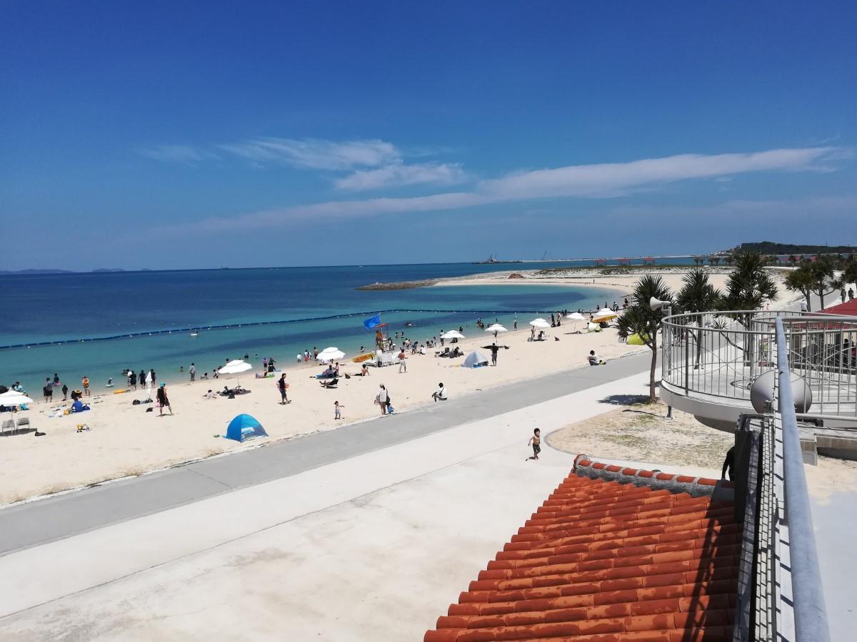 沖縄の美らSUNビーチ