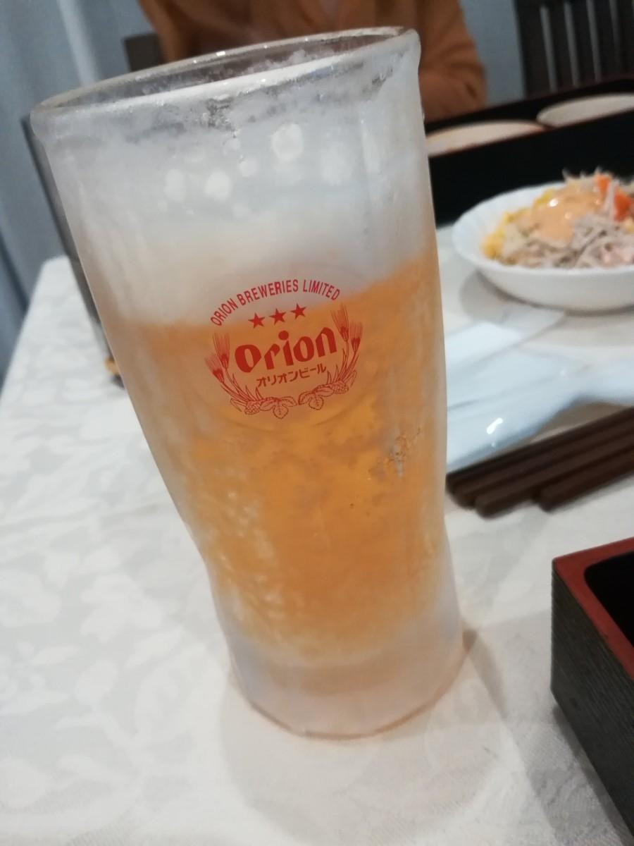 沖縄行ったらオリオンビールも忘れずに
