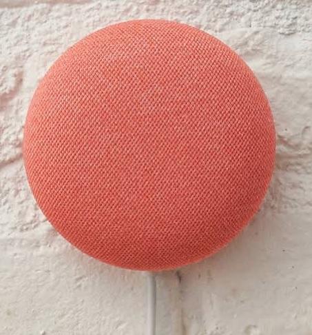 Google Nest Mini(Coral) 写真:https://store.google.com/jp/product/google_nest_mini