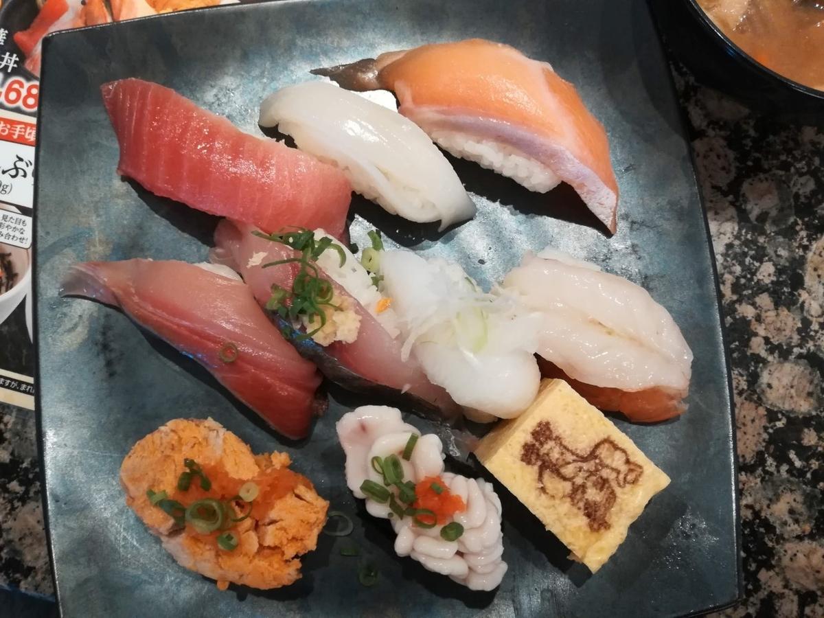 がってん寿司のおすすめ握りランチは最高!