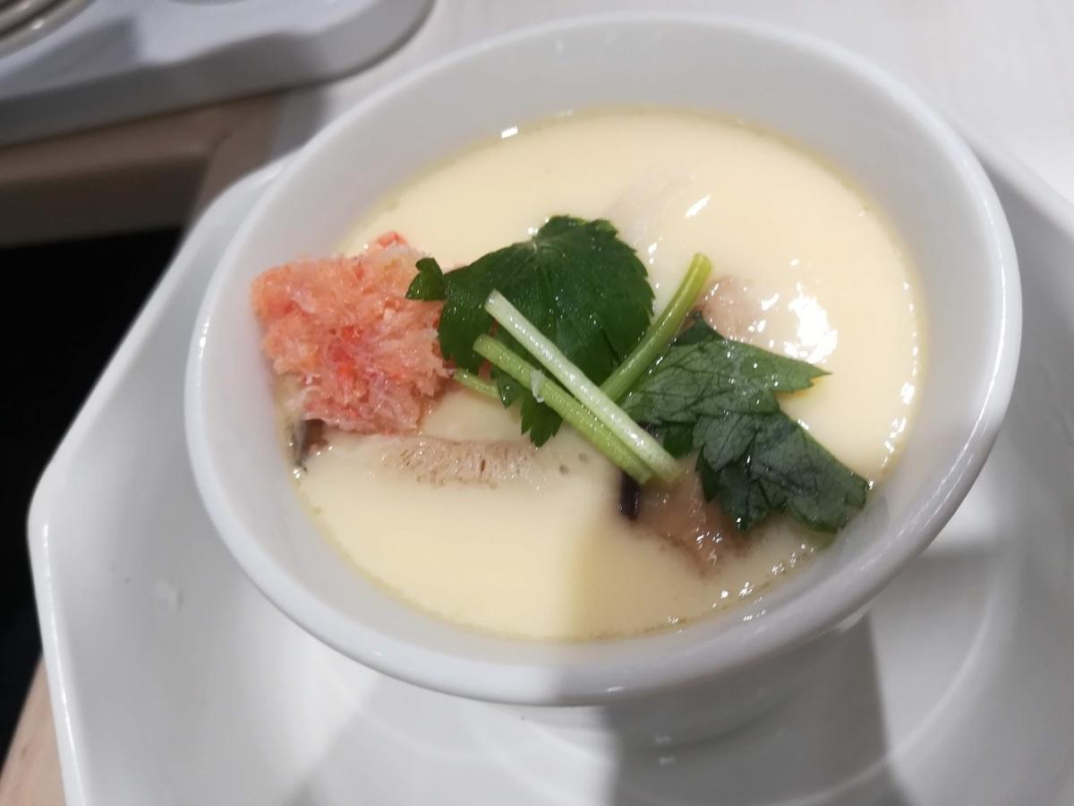 魚べいの海鮮茶碗蒸し