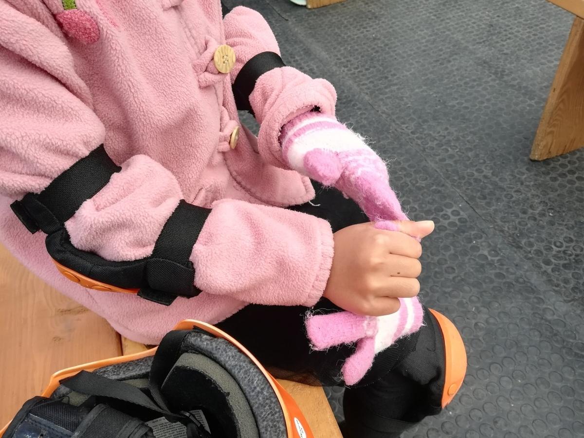 安全のために手袋は必須です
