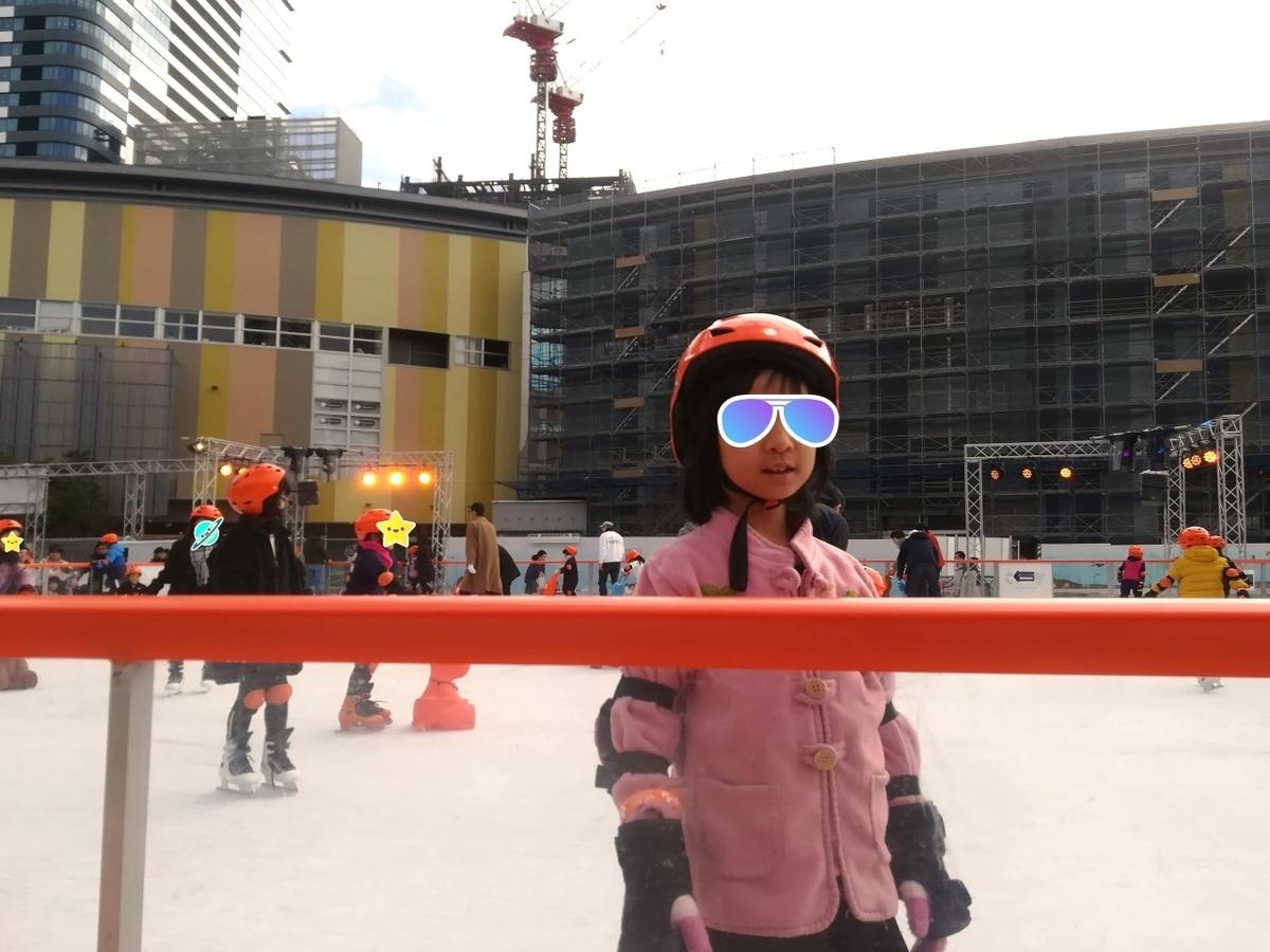 豊洲でアイススケートを堪能しました!