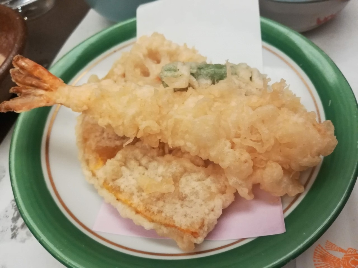 木曽路の天ぷらもおいしい