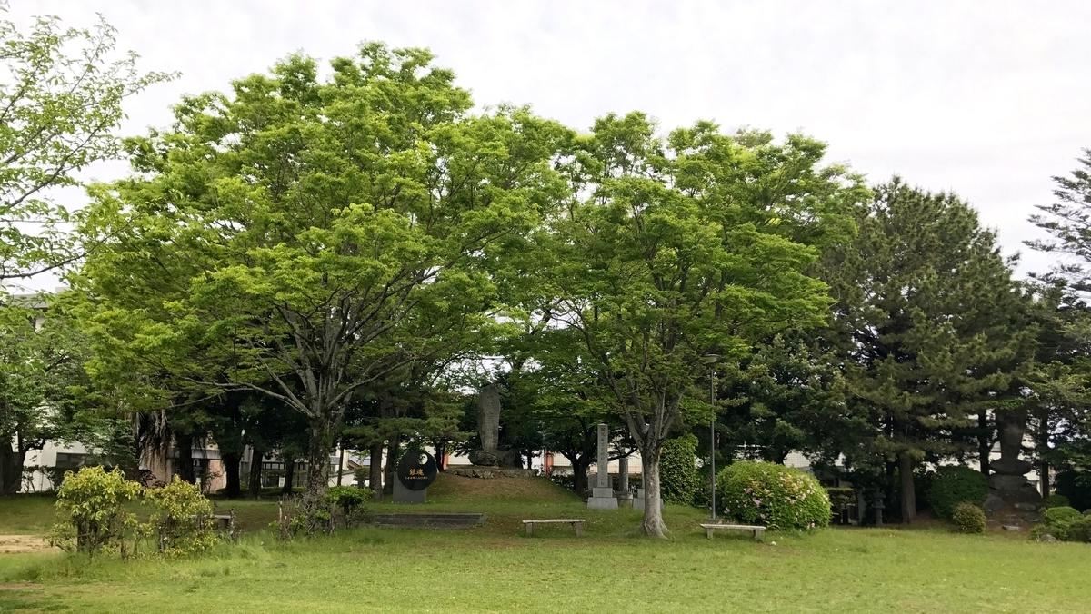 大保原古戦場跡(福岡県小郡市)