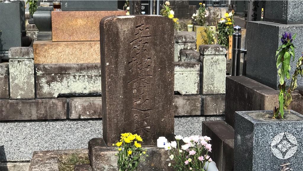 玉虫左太夫の墓