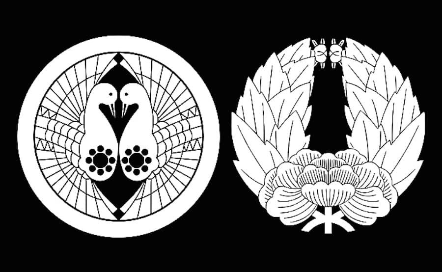 津軽と南部の家紋