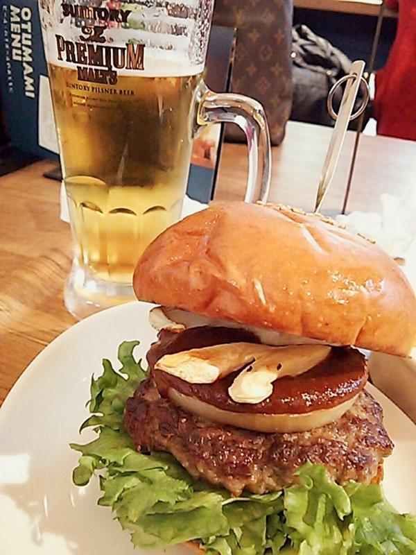 バーガー&ビール