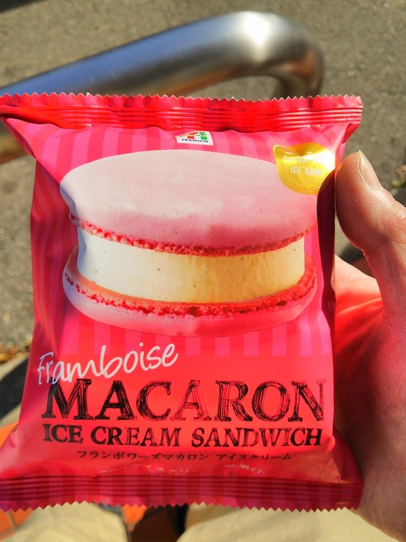 マカロンアイス