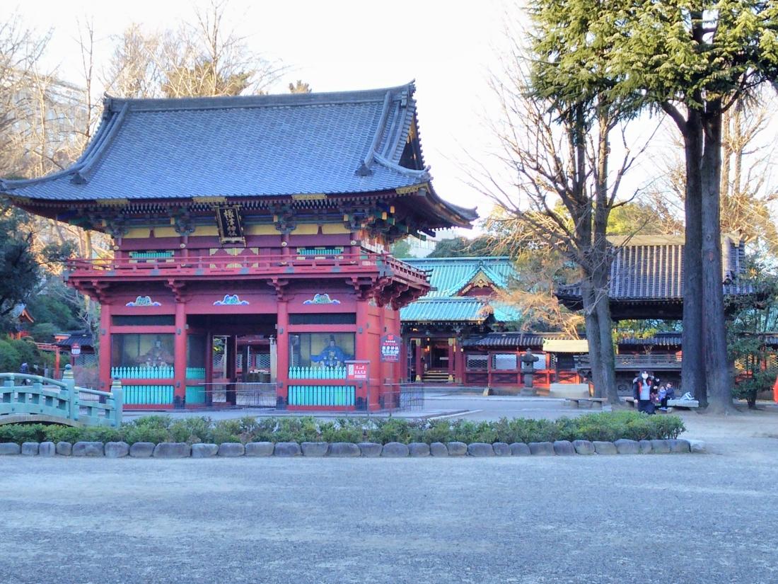 根津神社山門