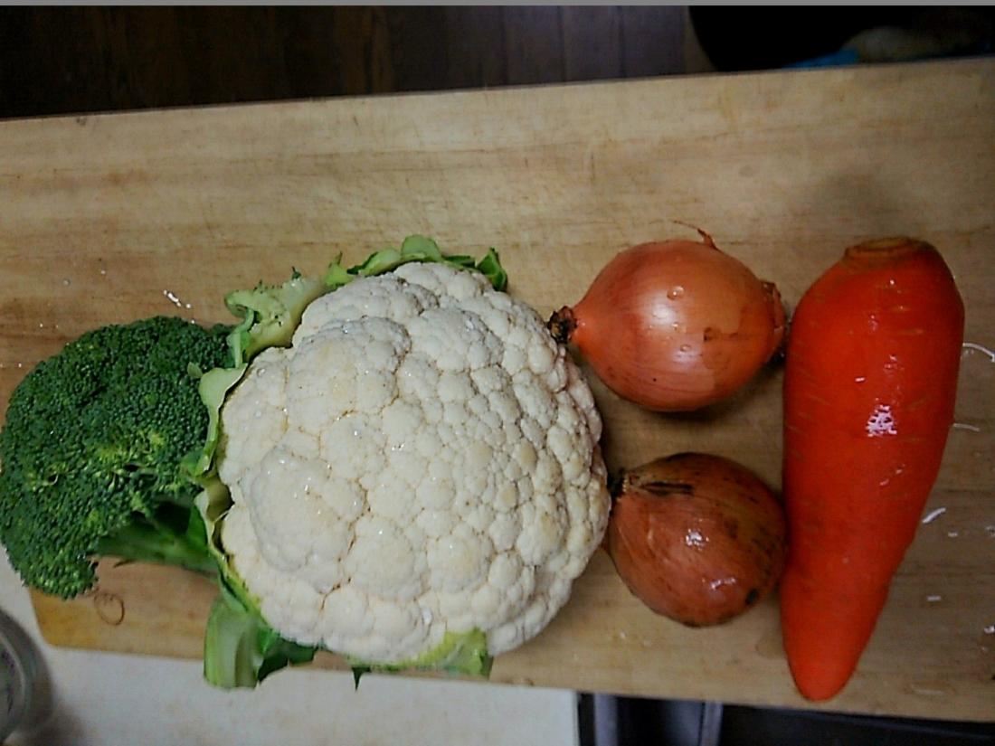 材料の野菜
