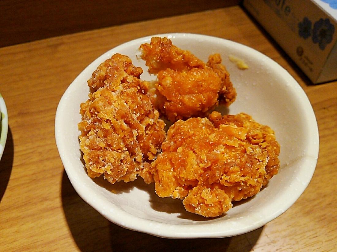 鶏唐150円