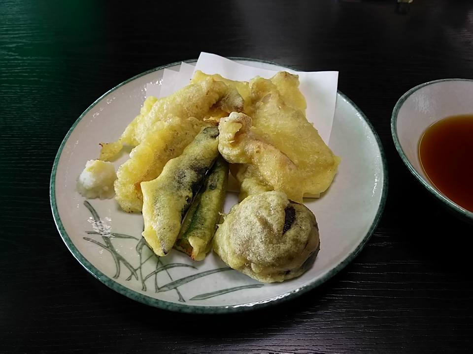 鯰の天ぷら