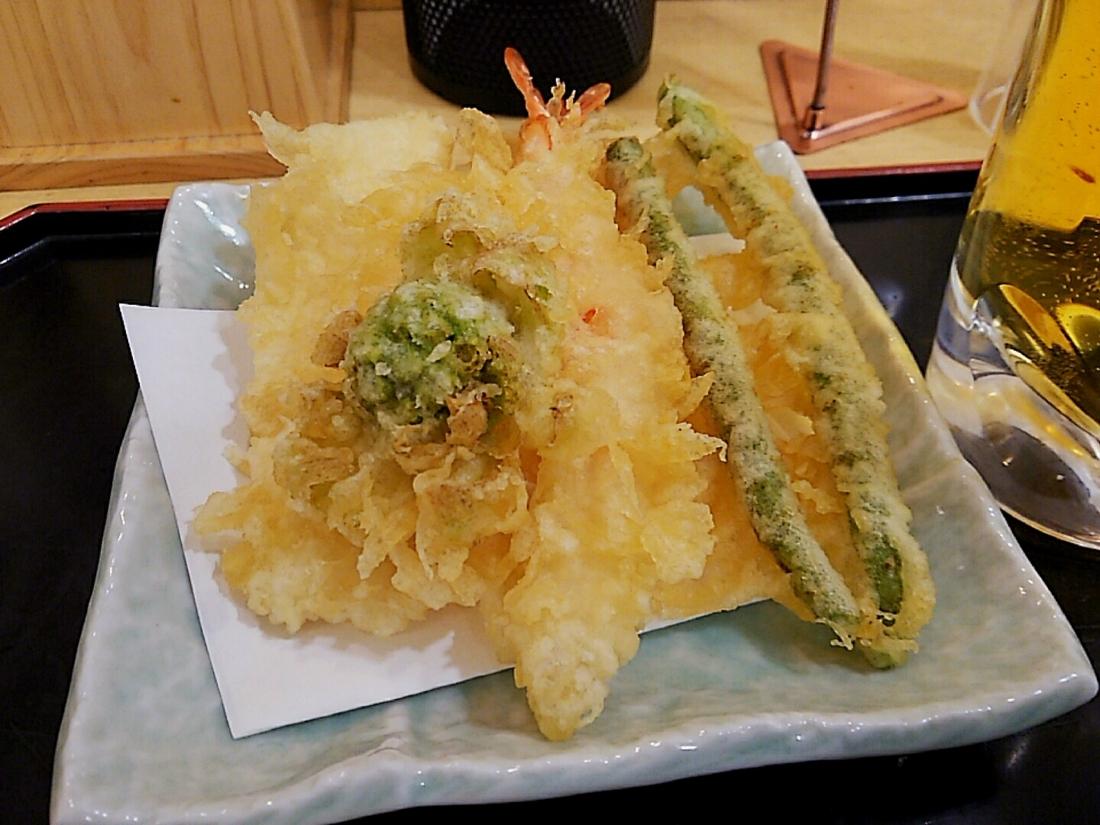 サクサク天ぷら