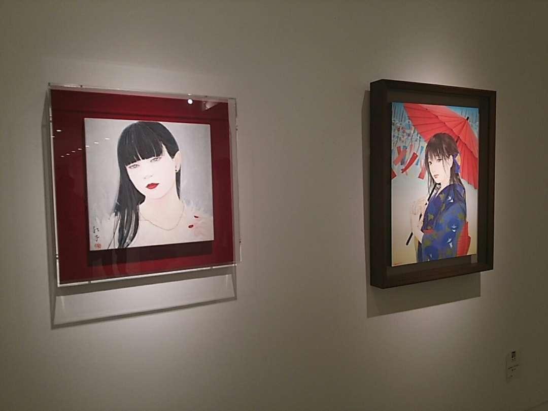 丁子紅子さんと細川成美さん