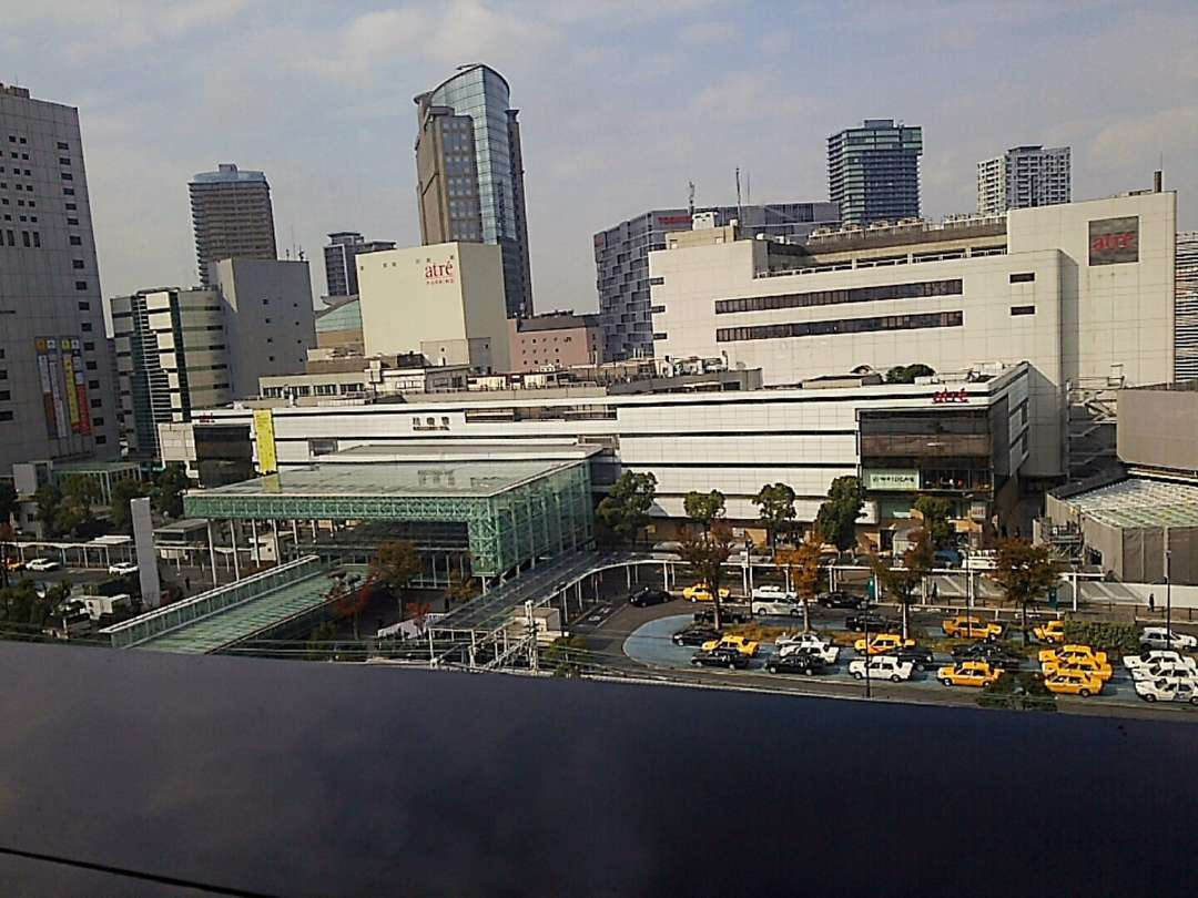 川崎駅前風景