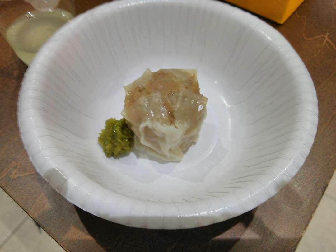 柚子胡椒とシュウマイ