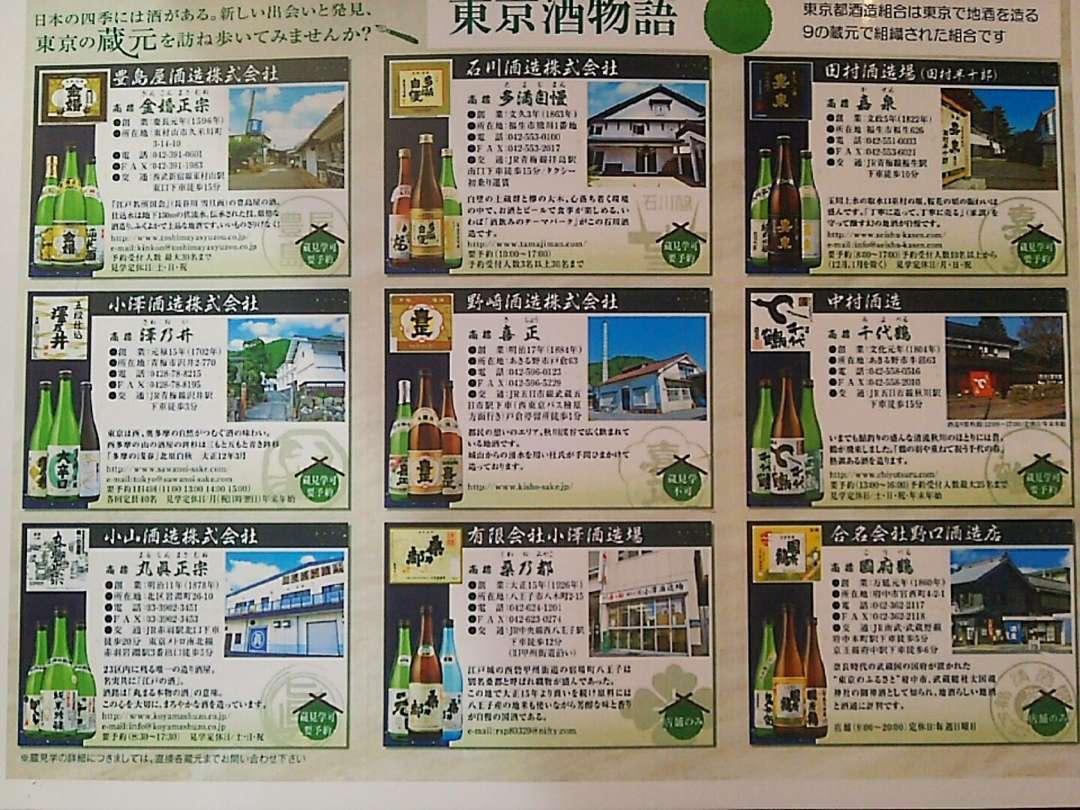 酒蔵マップ