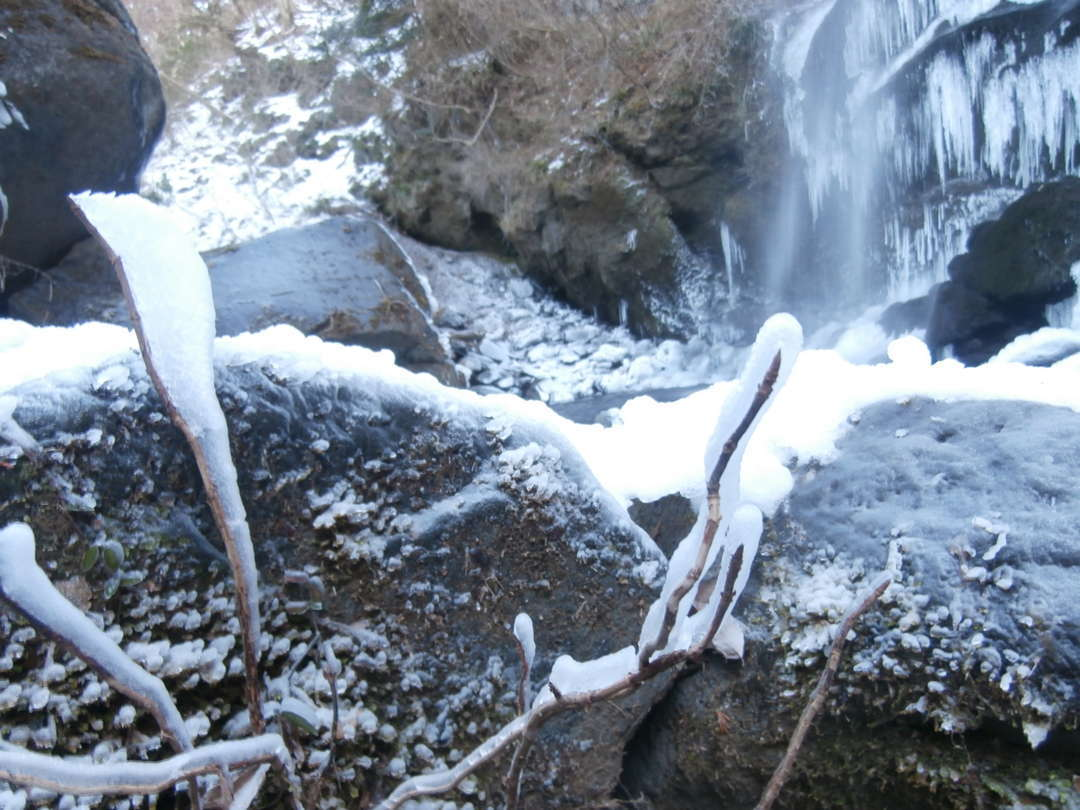 氷のデコレーション