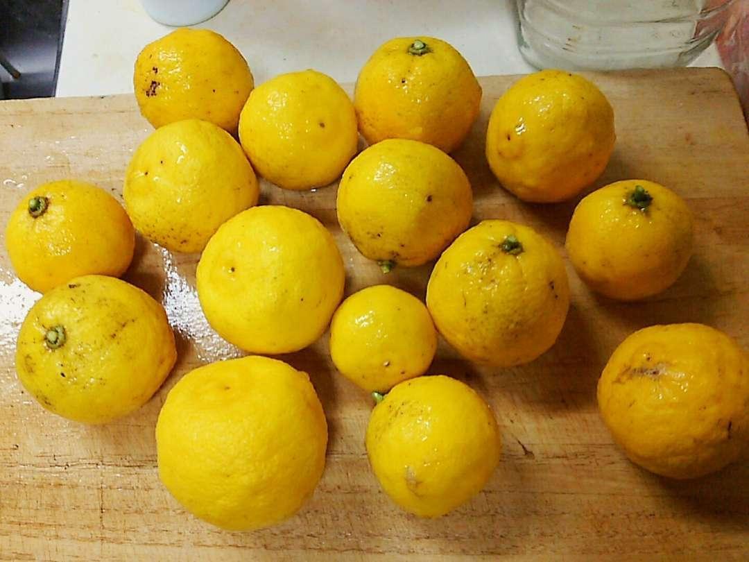 残りの柚子