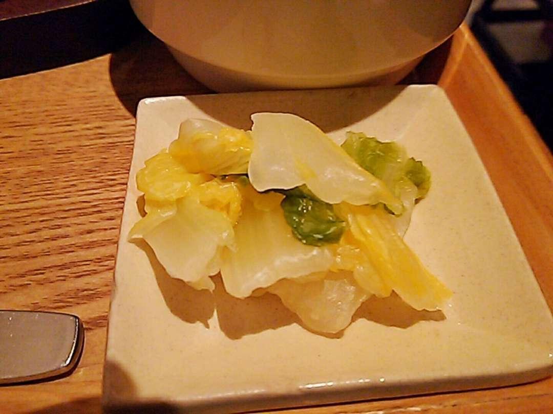 白菜柚子浅漬け