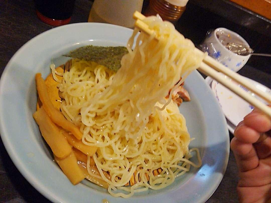 中華つけ蕎麦