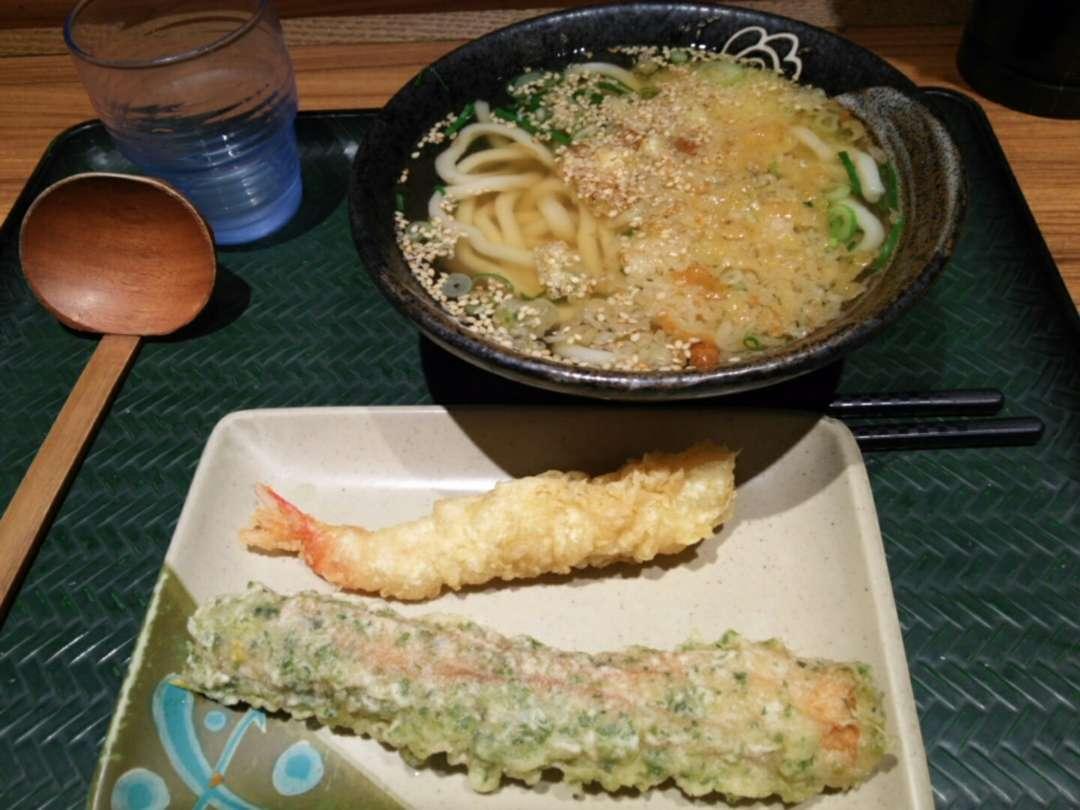 うどん+天ぷら