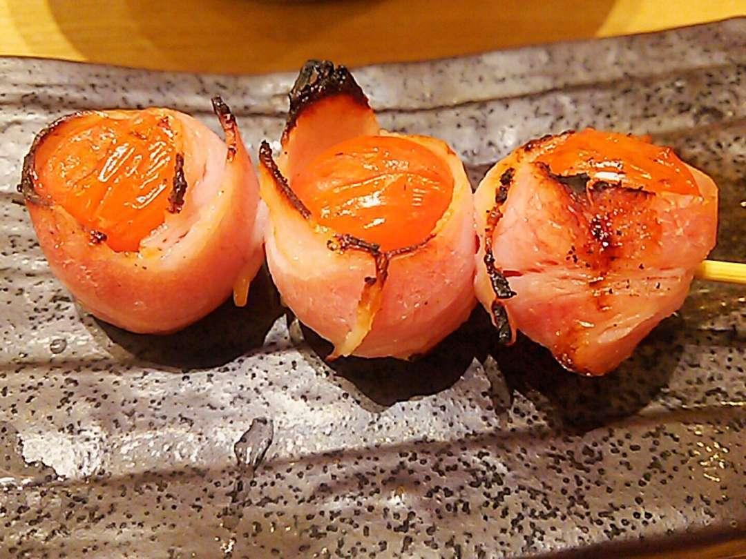 トマト巻き