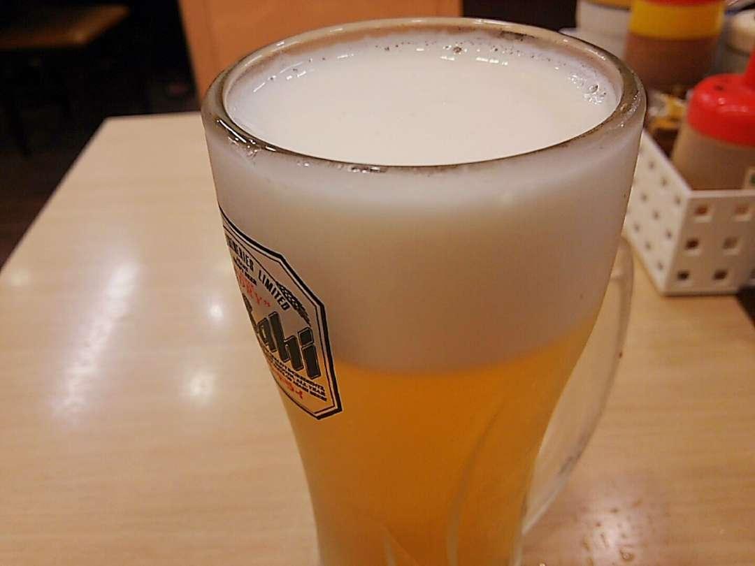 二杯目生ビール