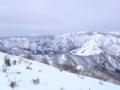 浅間山が見えた
