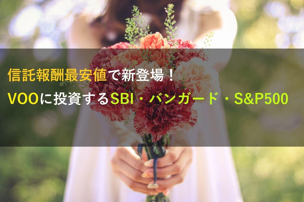 SBI・バンガード・S&P500