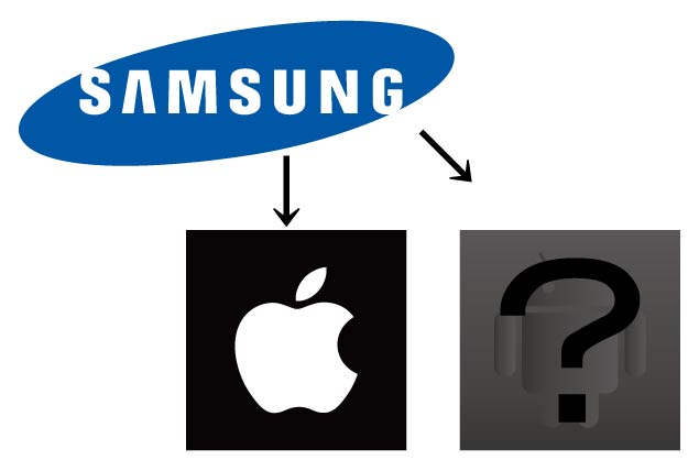 Samsung apple android iphone