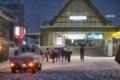 川越の雪風景 2018年1月22日